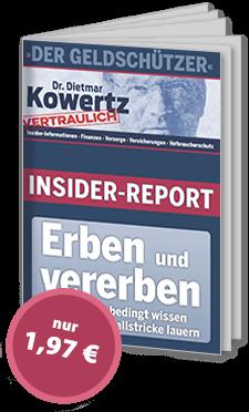 """Ausgabe """"Erben & Vererben"""""""