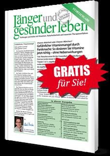"""Gratis für Sie! Aktuelle Ausgabe """"Länger und gesünder leben"""""""
