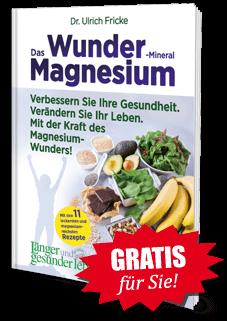 """Gratis für Sie! Exemplar """"Das Wunder-Mineral Magnesium"""""""