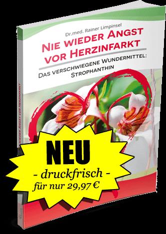 """Neu – druckfrisch – für nur 29,97€ Buch """"Nie wieder Angst vor Herzinfarkt"""""""