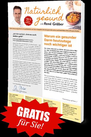 """Gratis für Sie! Ausgabe """"Natürlich gesund mit René Gräber"""""""