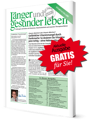 """Aktuelle Ausgabe """"Länger und gesünder leben"""""""